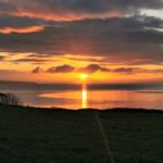 William Smith from Campbeltown sent in this week's photograph which was taken at sunrise recently, from the hill at Smerby Farm, looking over to the tip of Arran.