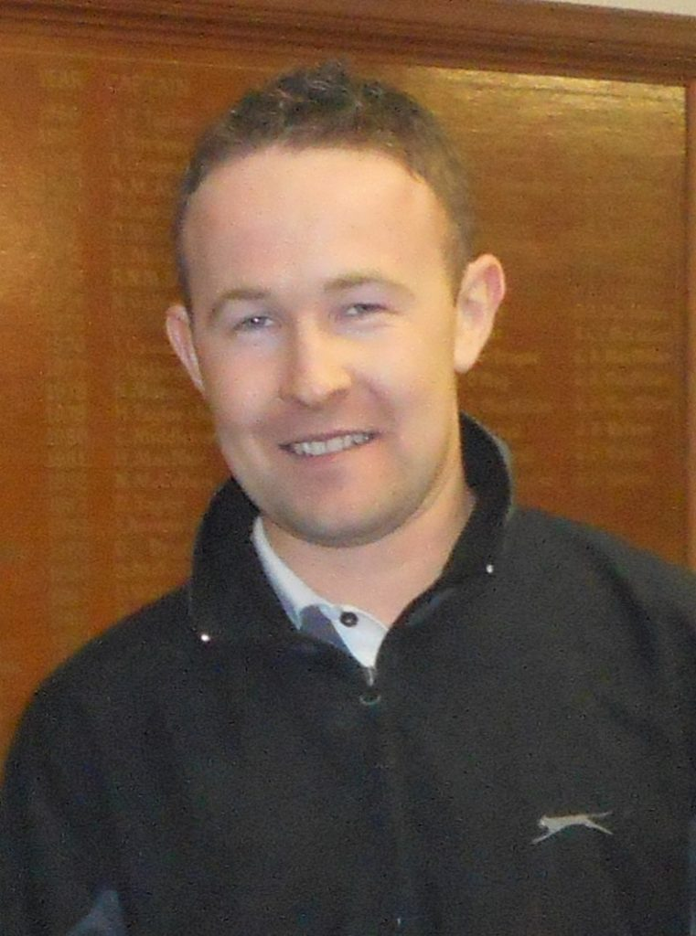 Alistair McConnachie took first place despite just returning from a three-month absence.