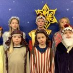 Glenbarr Primary School's nativity was recorded so parents and carers could watch it later.