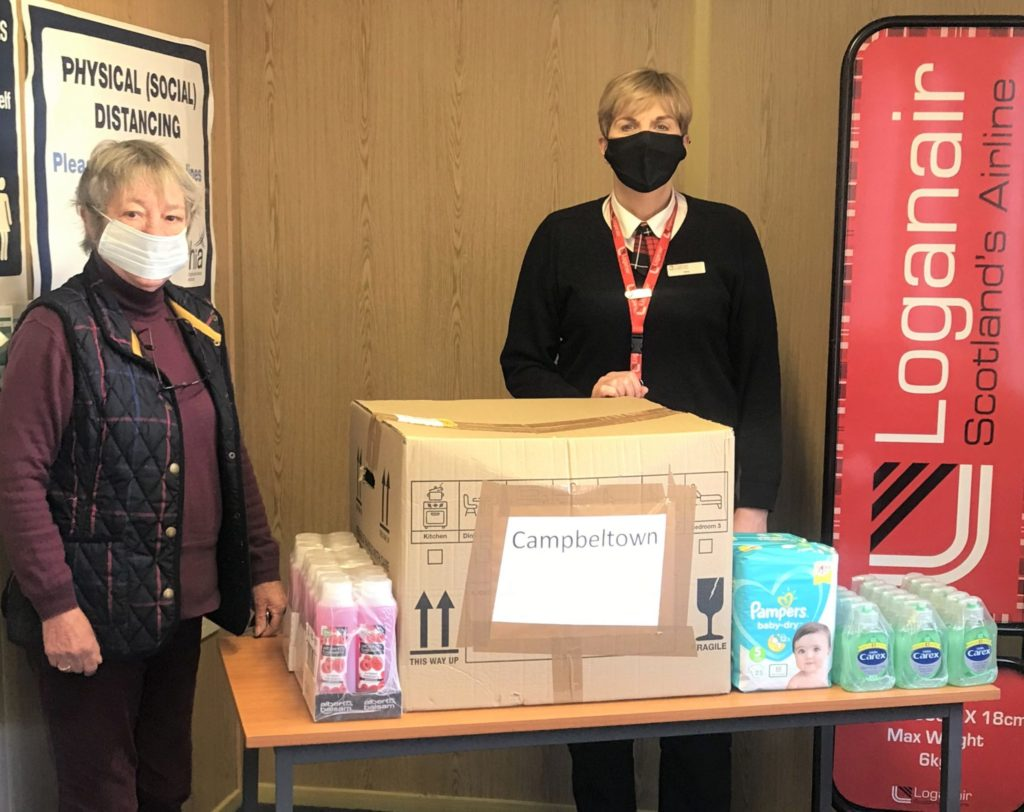 Food bank's thanks for festive donations