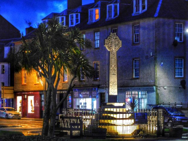 Aileen Gillies submitted this photograph of Campbeltown Cross.