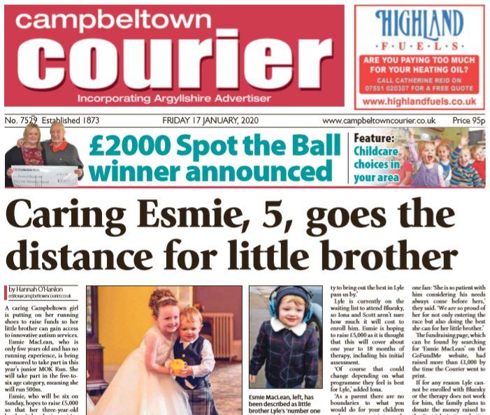Campbeltown Courier PDF Archive 2020