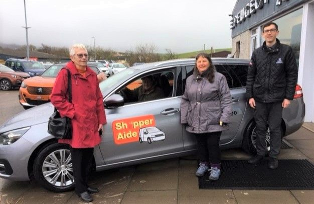 Peugeot Westie joins Shopper-Aide fleet