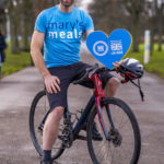 Cyclist Mark Beaumont is supporting Mary's Meals.