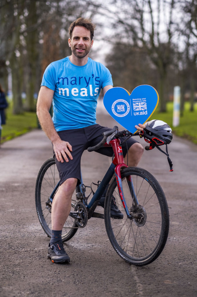 Mark Beaumont goes the extra mile for Mary's Meals
