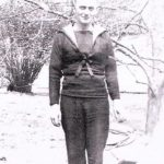 A A previously unseen photograph of sailor Douglas MacArthur, who stayed with the Casey family in New York during the Second World War.unseen photograph of sailor Douglas MacArthur who stayed with the Casey family in New York during the Second World War.