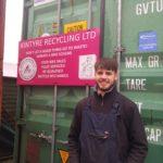 James McNairn, Kintyre Recycling Bike Project coordinator.