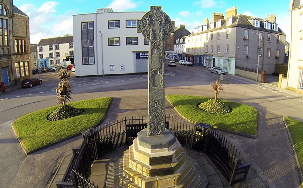 Campbeltown Cross was fully restored last year. Photograph: Robert Westerman.