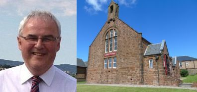 Reverend Dr Rodger Crooks, Campbeltown Free Church.