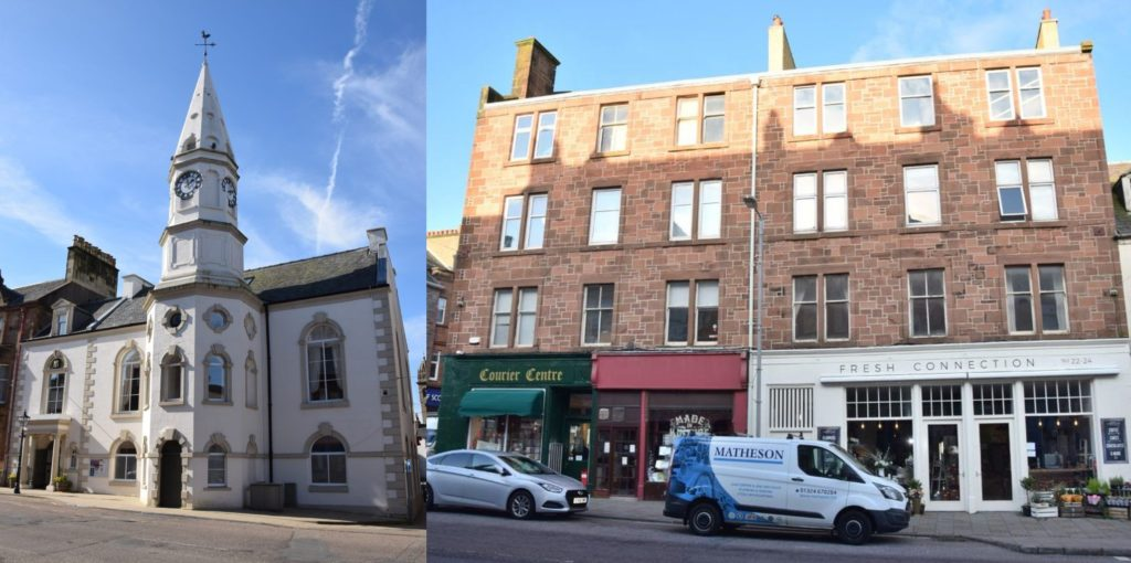Campbeltown has been named Scotland's most improved place.