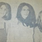 In 1971: Our picture shows the three young ladies adjudged the most beautiful in the Victoria Hall, Campbeltown, on Friday evening. They were competing in the local eliminating heat of Miss Highlands and Islands beauty competition. They are, left to right, Miss Muriel Coutts; Miss Maureen Maguire, the winner, and Miss Kathleen Longmuir.