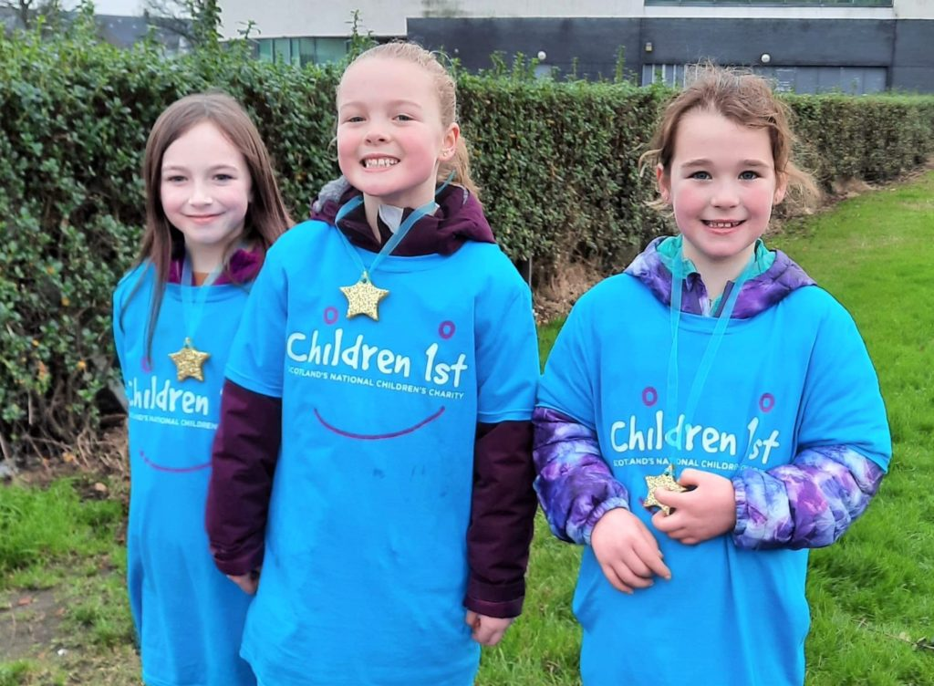 Walk raises more than £2,000 for Children 1st