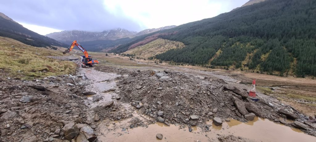 A83 disruption as Rest and be Thankful hit by more landslides