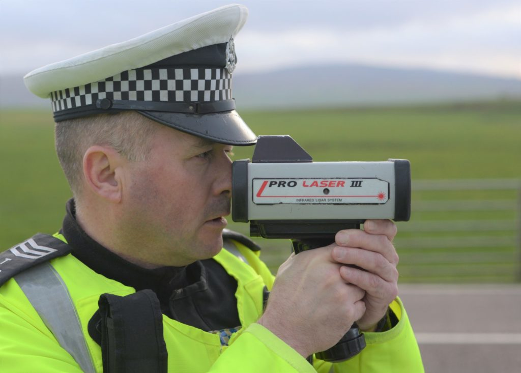 Inspector Archie McGuire says driving at excessive speeds shows 'an utter disregard' for the safety of everyone else on the road.