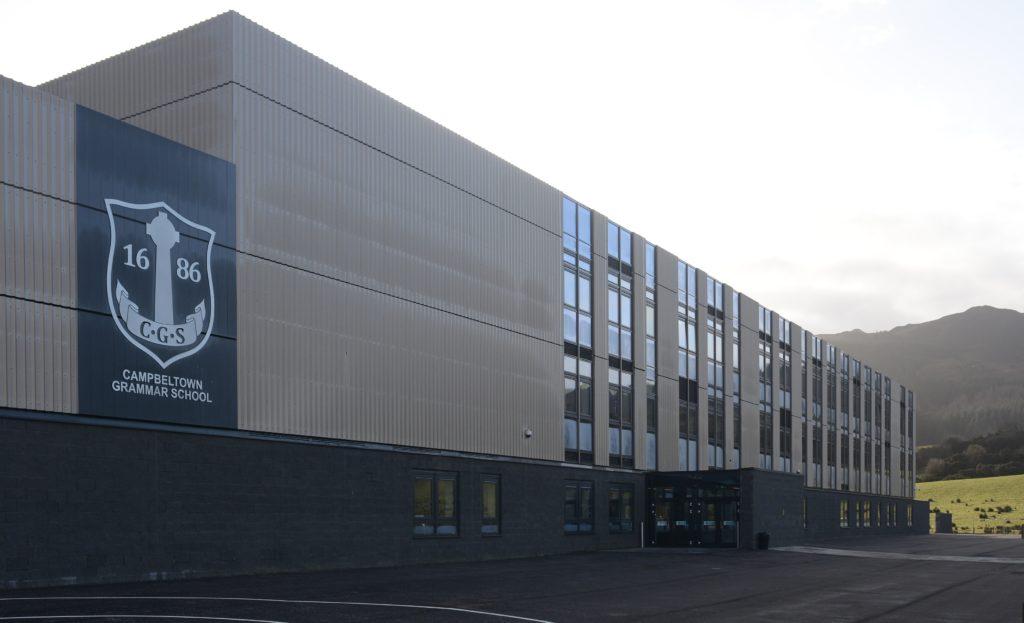 The new Campbeltown Grammar School opened in February 25_c18campbeltowngrammarschool01