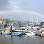 Courier reporter Hannah O'Hanlon searched for a pot of gold after snapping this complete rainbow crossing Campbeltown Loch. 50_c33rainbow02