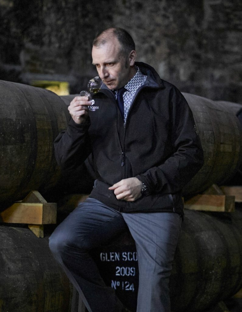 Glen Scotia Distillery manager Iain McAlister says the Grand Tour will allow whisky lovers to experience Campbeltown. NO_c09glenscotia01