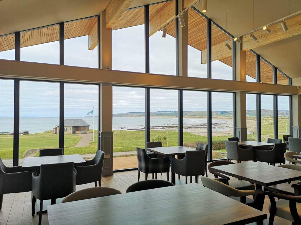 The new Machrihanish Golf Clubhouse has been designed with spectacular views at its core.