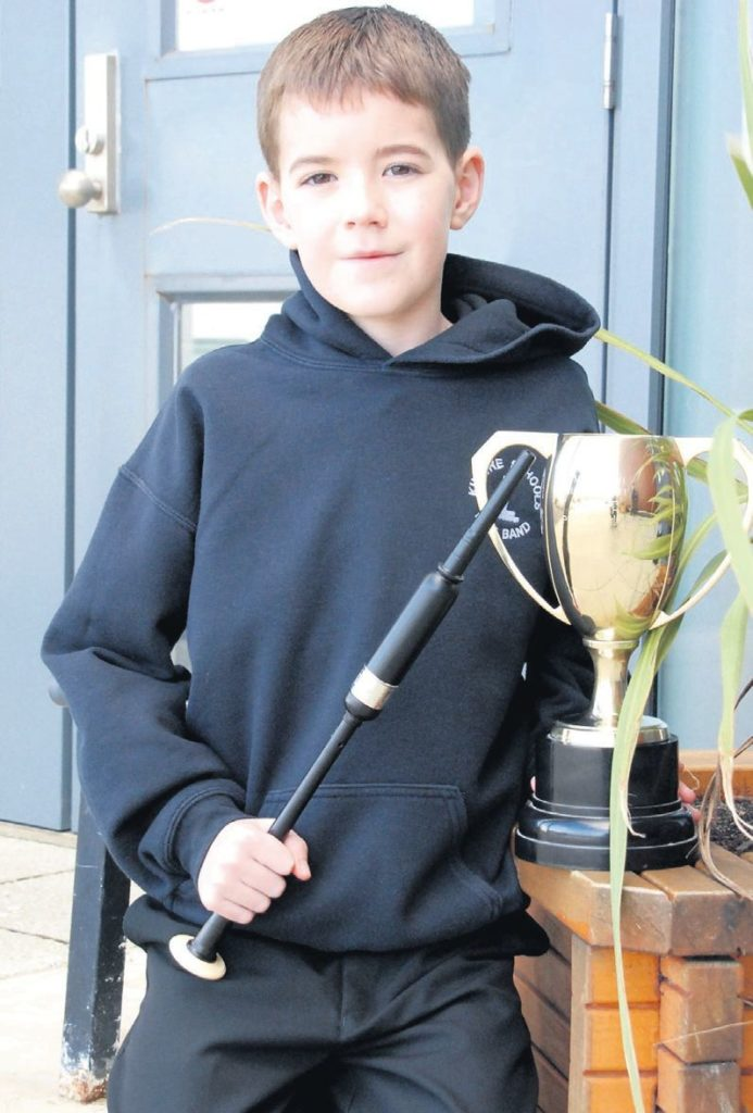 In 2011: Congratulations to 11-year-old Ryan McLachlan of Campbeltown who was the first winner of the 2011 Mid Argyll Music Festival, winning first place in the chanter competition.