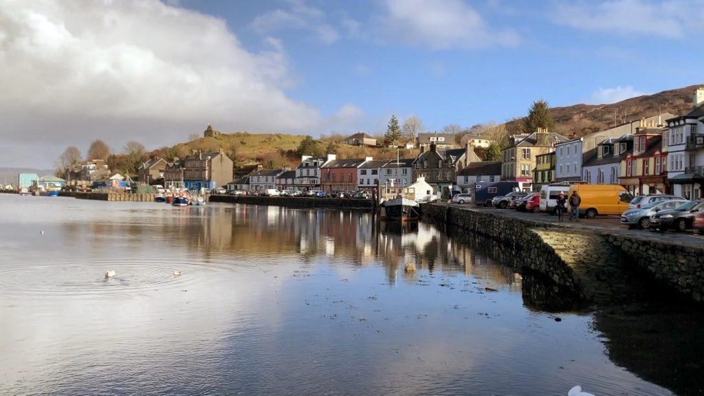 Scottish Water is investing £3.4 million in Tarbert's waste water infrastructure.