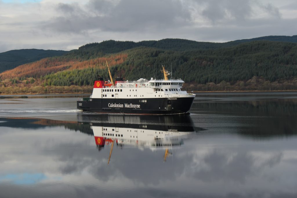 Harbour restrictions at Port Askaig in April