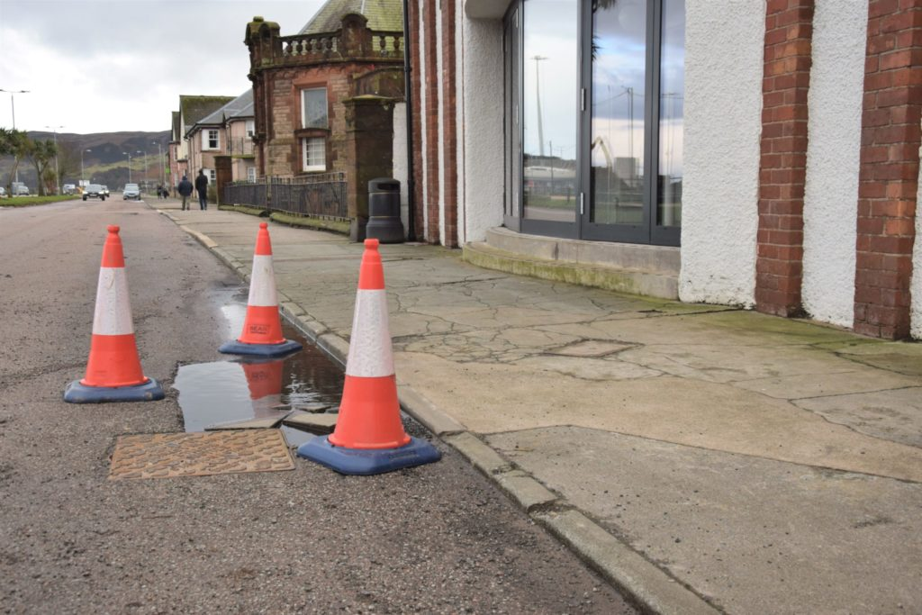 Hall Street is one of the areas that will benefit from pavement and road improvements.