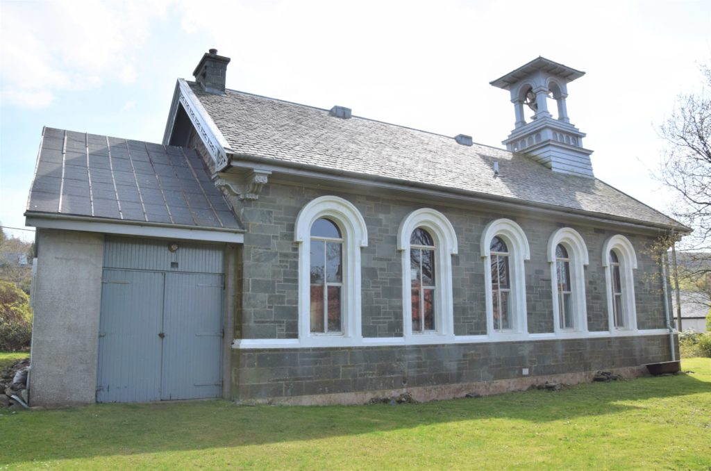 The former church, more recently used as a house, could be turned into a community hub.