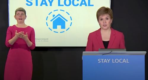 Travel across Scotland – restrictions eased from Friday