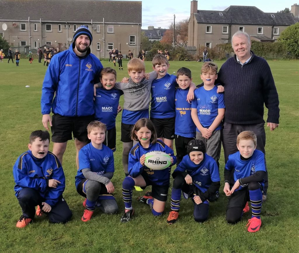Junior rugby club pays tribute to dedicated coach