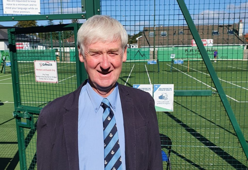 Coach Colin in the running for prestigious tennis prize