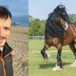 Amazingrazing founder Felix Newall-Smith, left, is behind the revolutionary service to connect horse and livery owners.