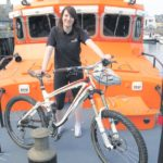 In 2011: Courier reporter RuthMcClean will be swapping her notebook and pen for a bike when she hits the road for a 300-mile charity cycle. The 23-year-old is taking part in a London to Paris bike ride in July and aims to raise hundreds of pounds for Campbeltown Lifeboat.