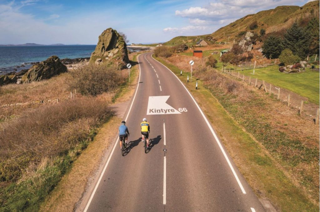 Kintyre 66 encourages tourists to visit all parts of the peninsula. Photograph: Raymond Hosie.