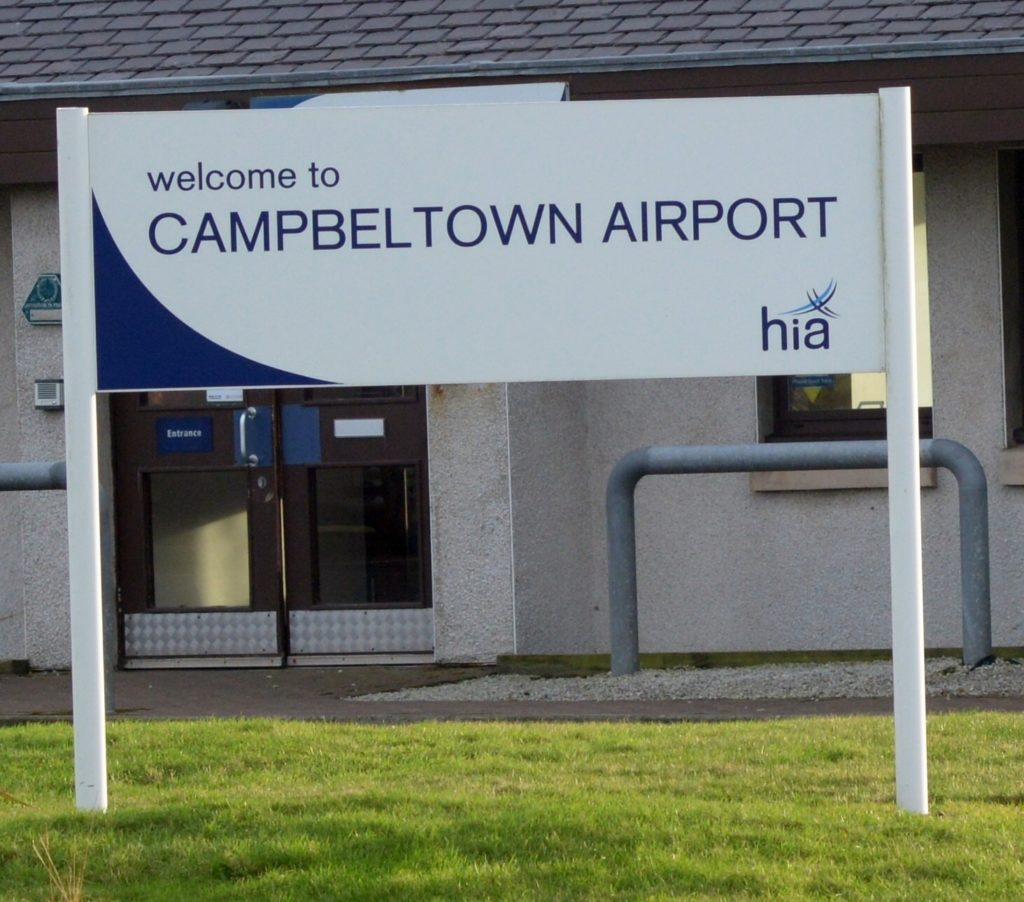Campbeltown airport.