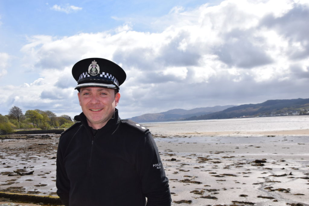 New inspector looks, learns – and loves Argyll