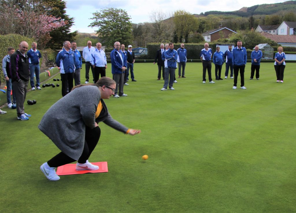 Sun shines for delayed but welcomed opening of bowling greens