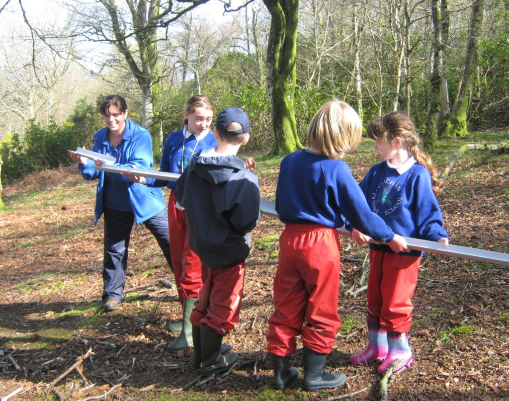 Pupils explore great outdoors with Scouts