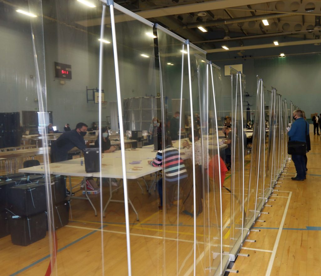 Subdued atmosphere at Argyll and Bute election count