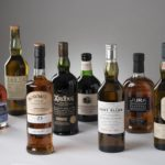 Examples from each of Islay's eight single-malt producing distilleries are being auctioned.