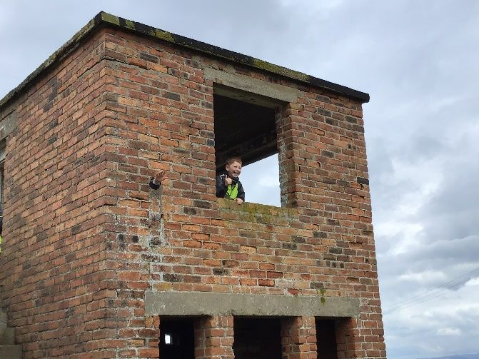 Young explorers from Rhunahaorine Primary School have embarked on a quest to discover the history of Kintyre's lookout towers.