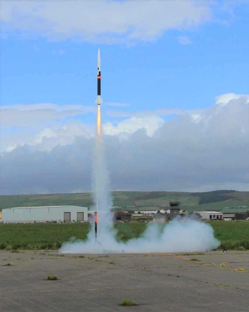 A Raptor Aerospace Kestrel-100LD rocket was successfully launched at MACC last year.