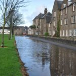 Flooding in Campbeltown in 2014 was described as 'the worst in 30 years'. 20_c46floods02