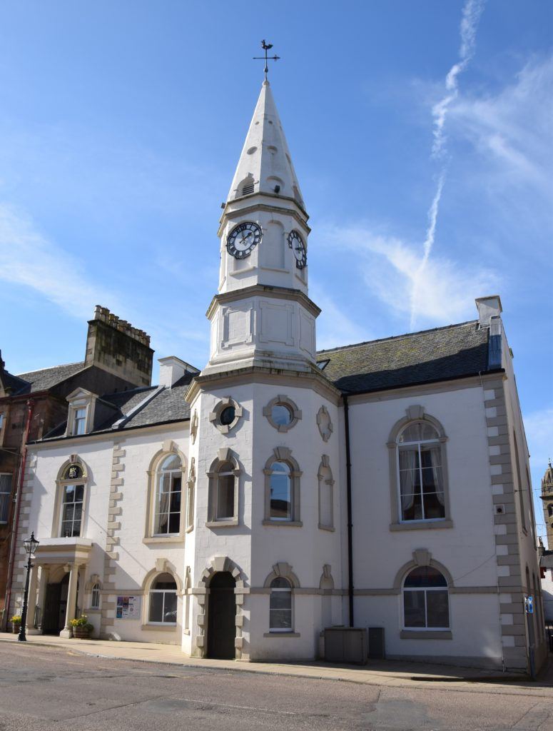 Campbeltown Town Hall.