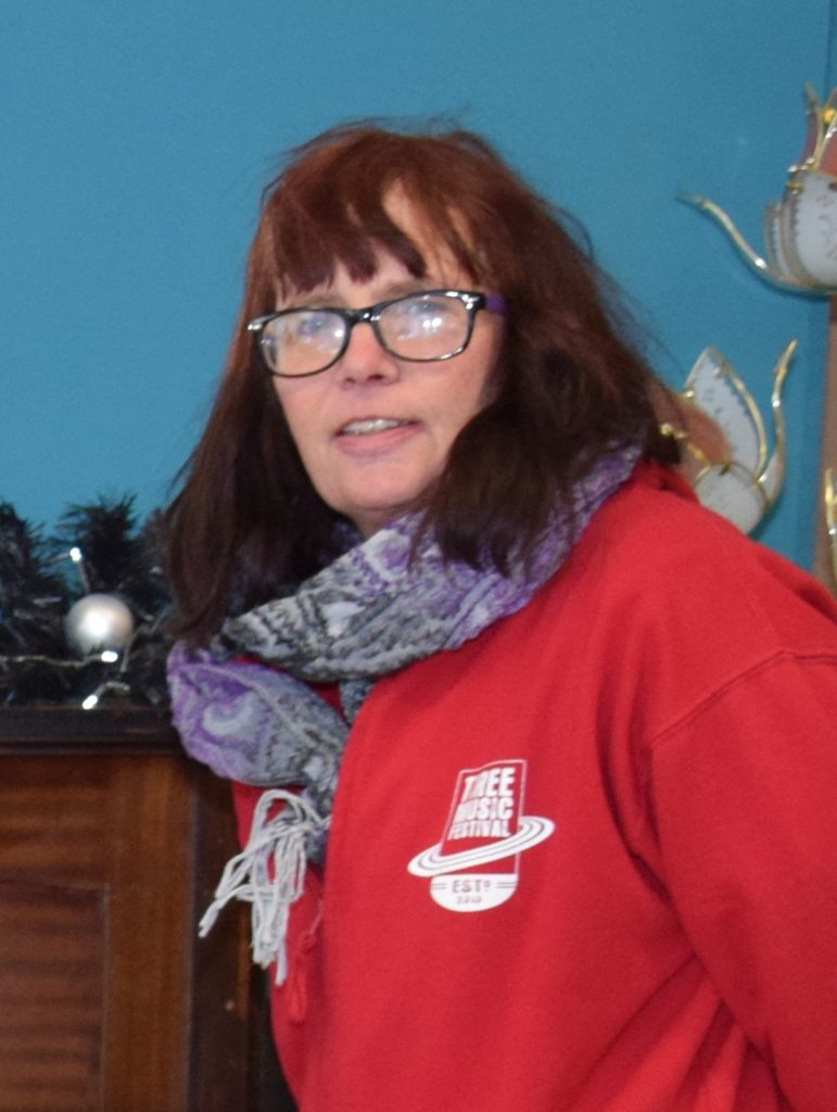 Kintyre Recycling business manager, Amanda Thorburn.
