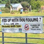 Signs have also been erected in areas where dog fouling is an issue, including the playpark at Tayinloan.