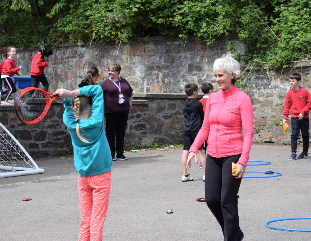 Could future tennis stars come from Campbeltown?