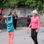 Judy Murray wrote that seeing the children's faces light up during the classes was 'just a delight'.