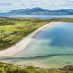 The Taste of Place Trails encourage visitors to enjoy food at some of Argyll's stunning viewpoints, like this one overlooking Carradale Bay. Photograph: Raymond Hosie.