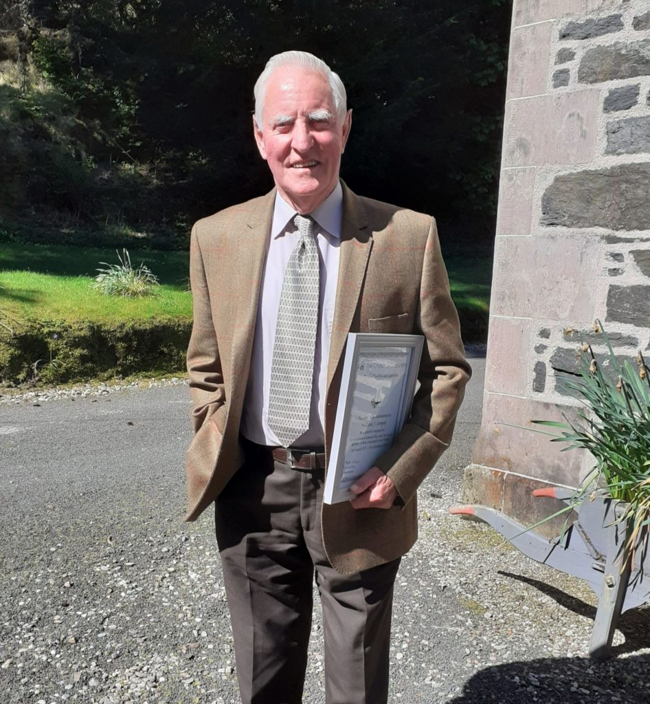 Wum's 50 years of church service honoured