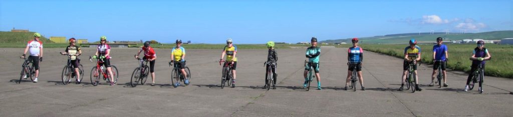 Time trial cyclists hit the track at MACC